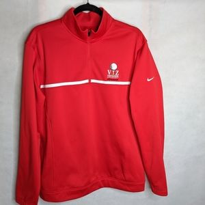 Mens M Nike Therma Fit Performance Golf Pullover